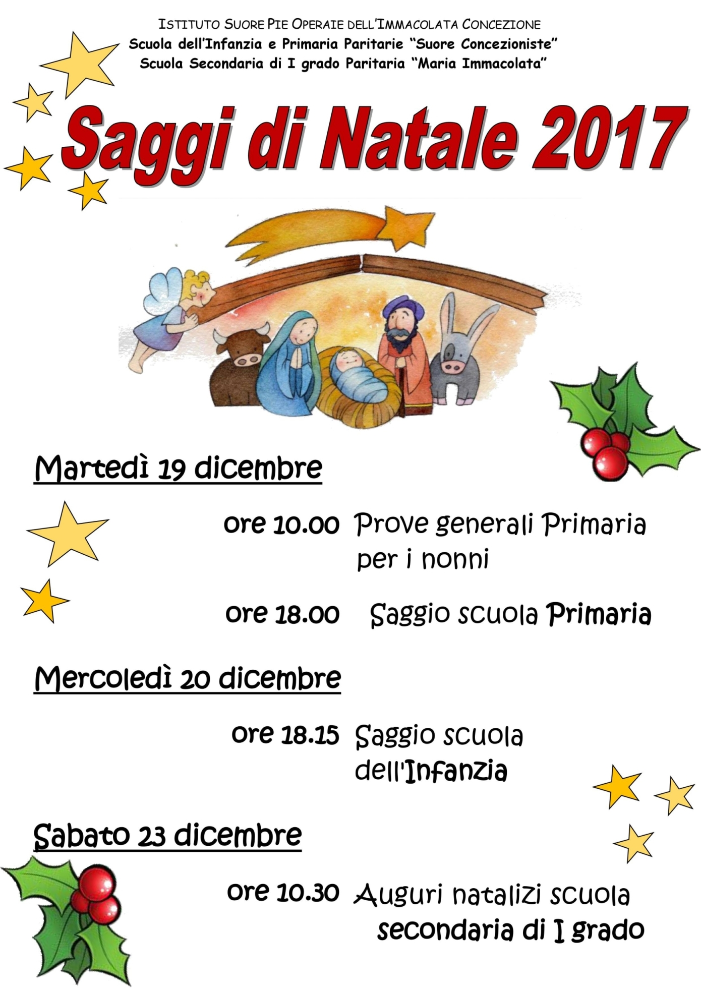 saggi di Natale 2017 LOW